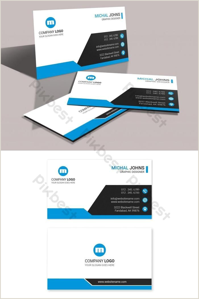 Business Card With Logo Template Minimal Business Card Design With Images