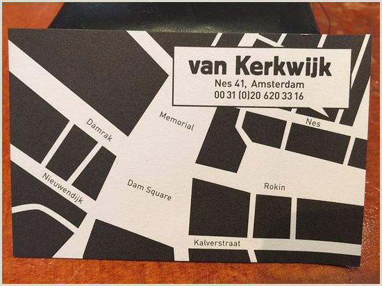 Business Card Without Address Business Card Location Picture Of Van Kerkwijk