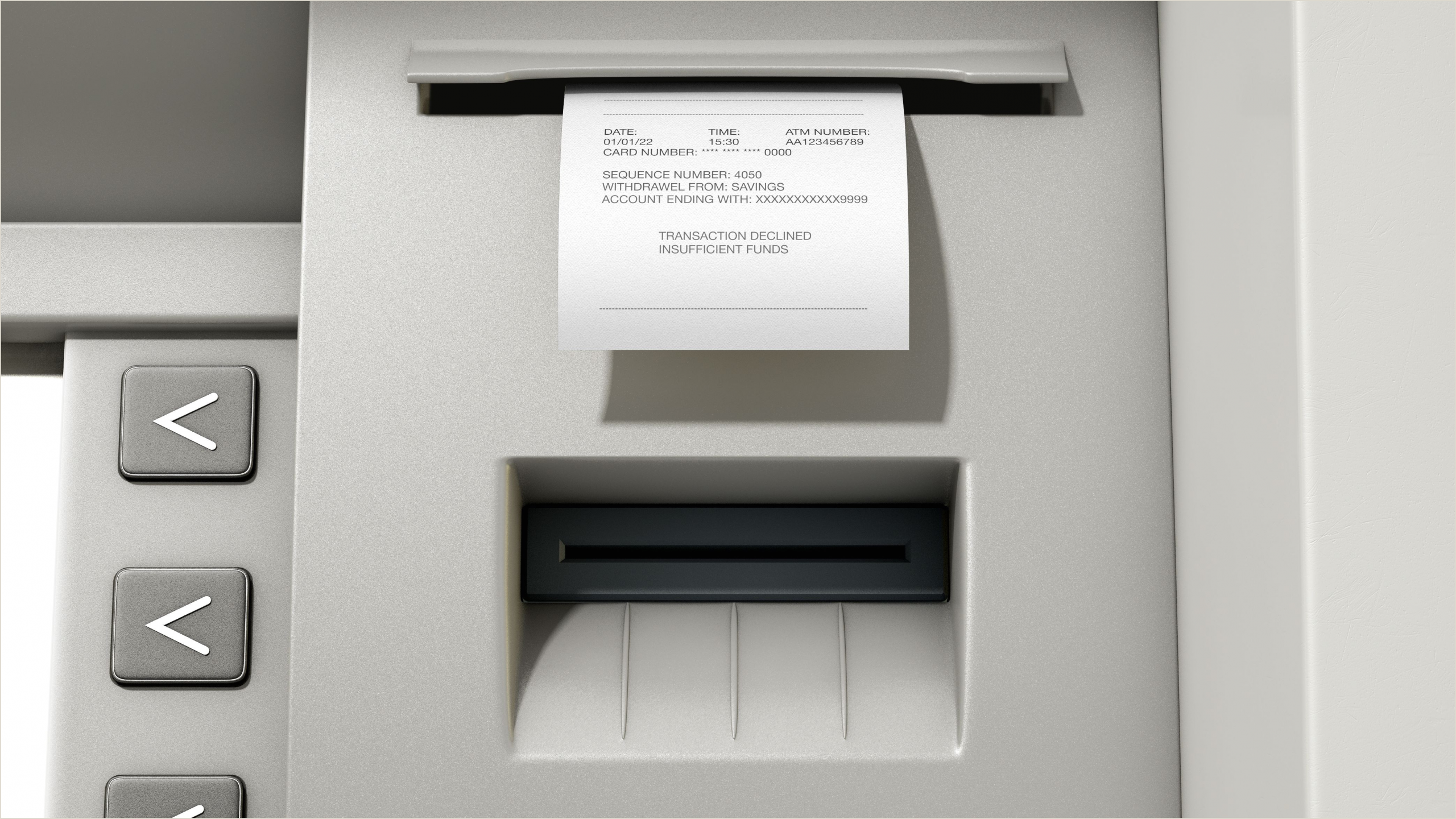 Business Card Without Address Non Sufficient Funds Nsf Definition