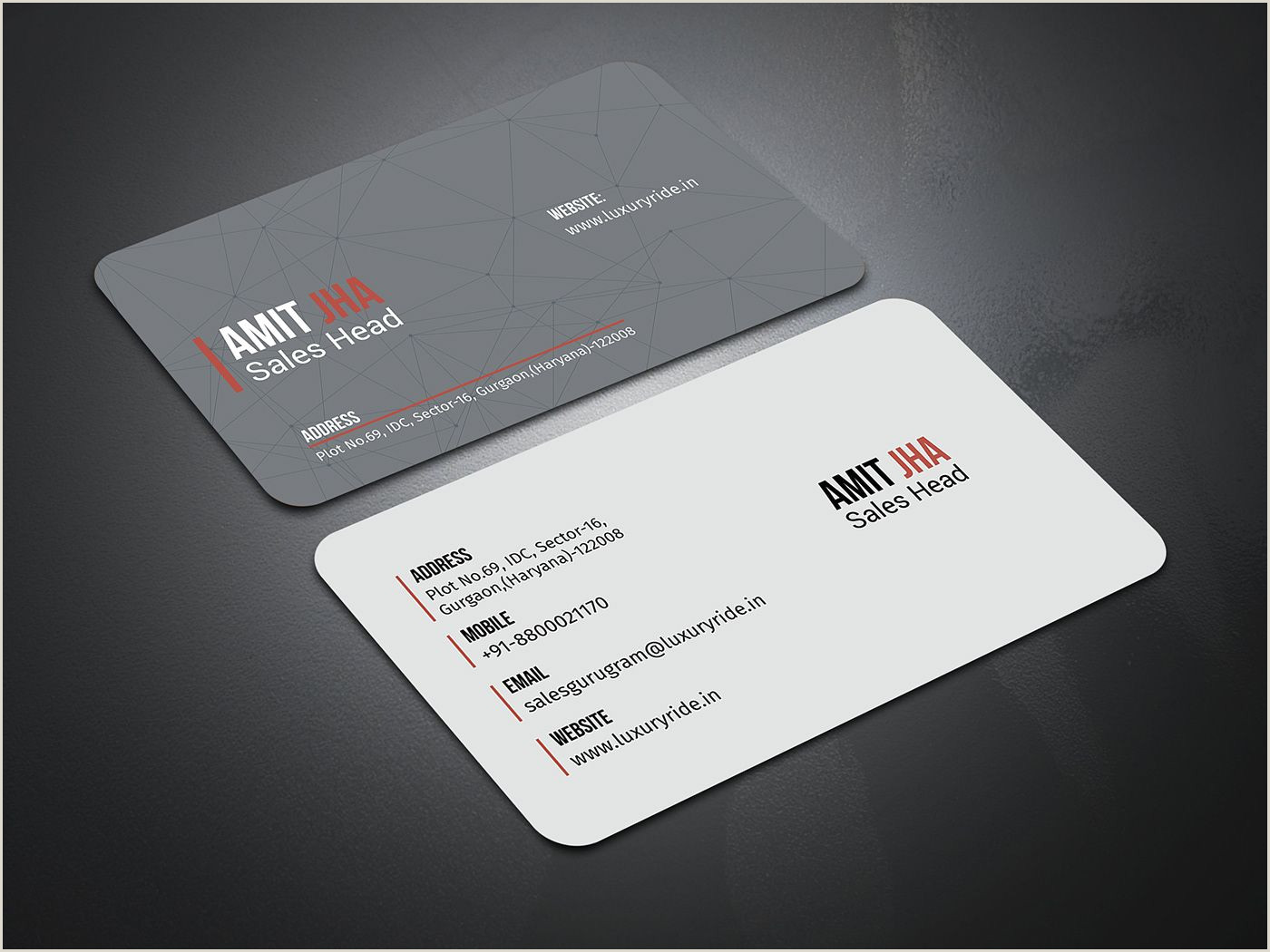 Business Card Without Address Rayhan Nasir On Behance