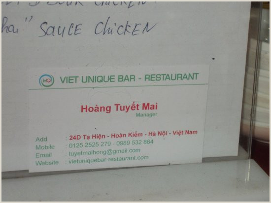 Business Card Without Address Their Business Card With Address Picture Of Viet Unique
