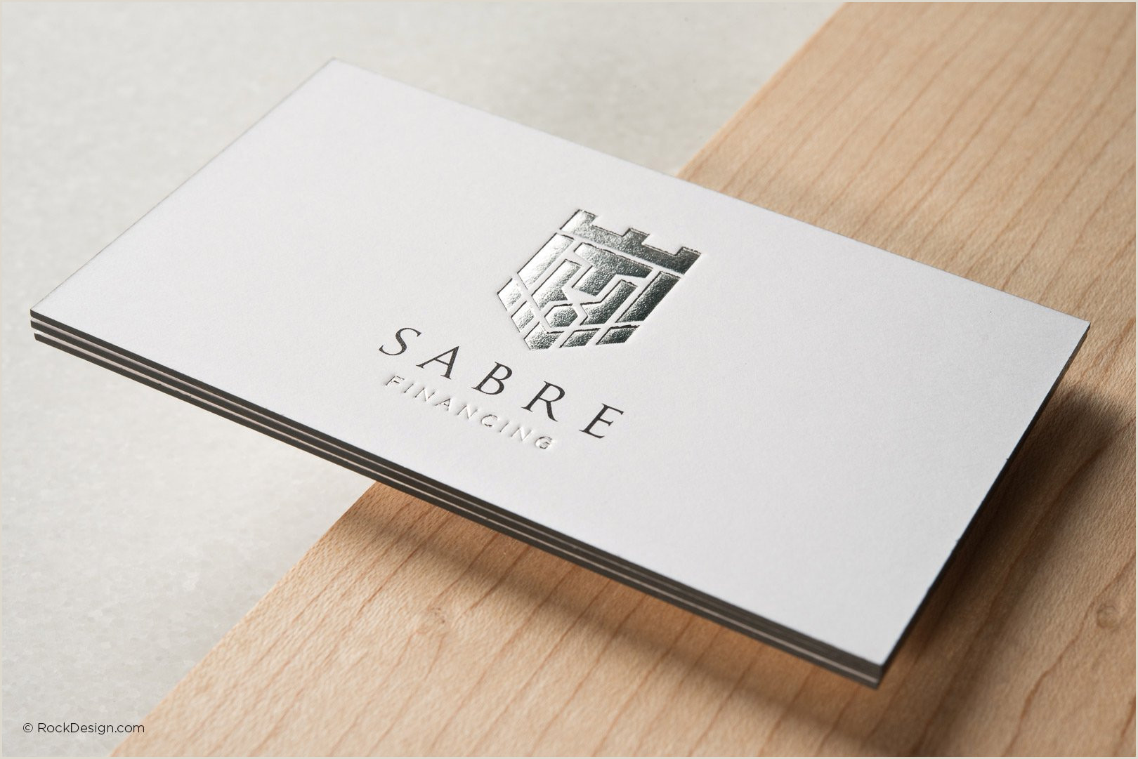 Business Cards Back Free Emboss & Foil Business Card Templates