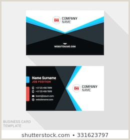 Business Cards Back Front Back Business Card Stock S & Vectors