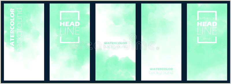 Business Cards Backgrounds Mint Green Wedding Invitation Background Stock Illustrations