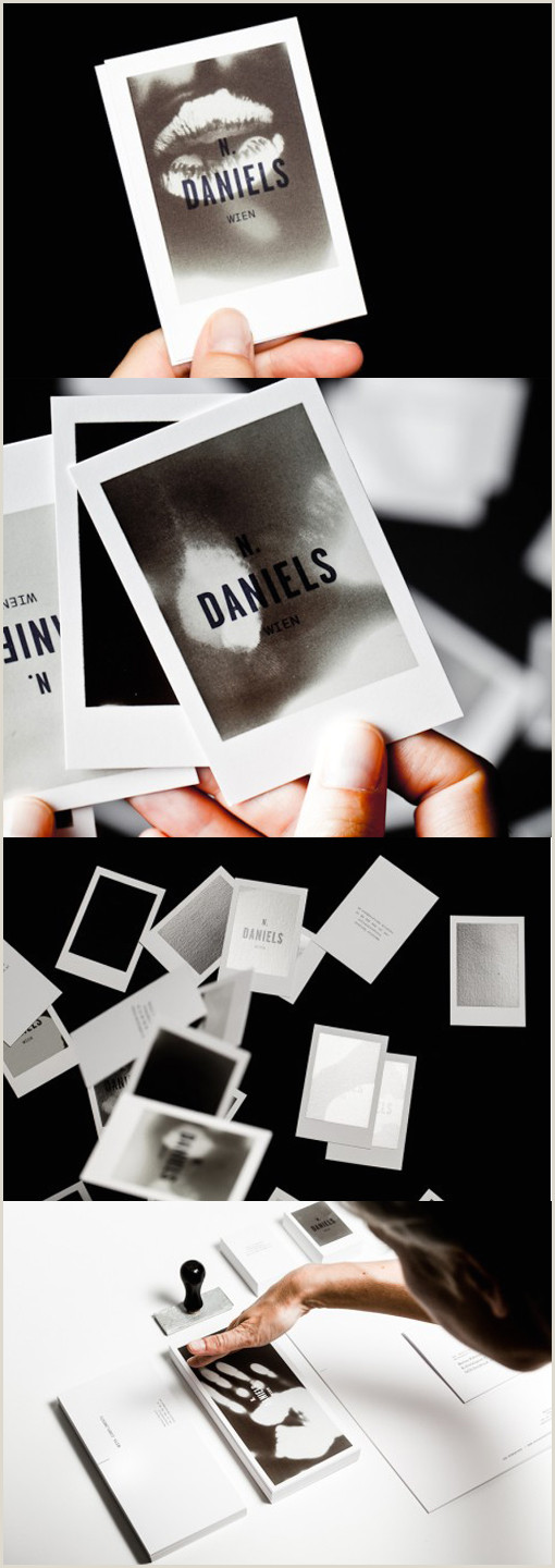 Business Cards Best 30 Business Card Design Ideas That Will Get Everyone Talking