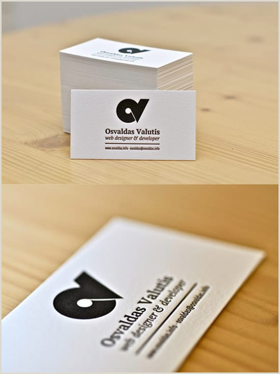 Business Cards Best 50 Awesome Must See Business Card Designs Designrfix