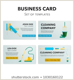 Business Cards For Cleaning Business Cleaning Business Card Stock S & Vectors