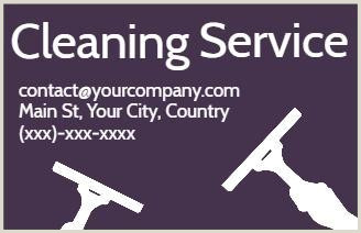 Business Cards For Cleaning Business Cleaning Business Card Templates That You Can Edit In Minutes