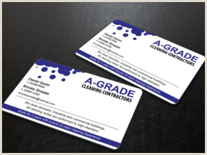 Business Cards For Cleaning Business Cleaning Service Business Cards