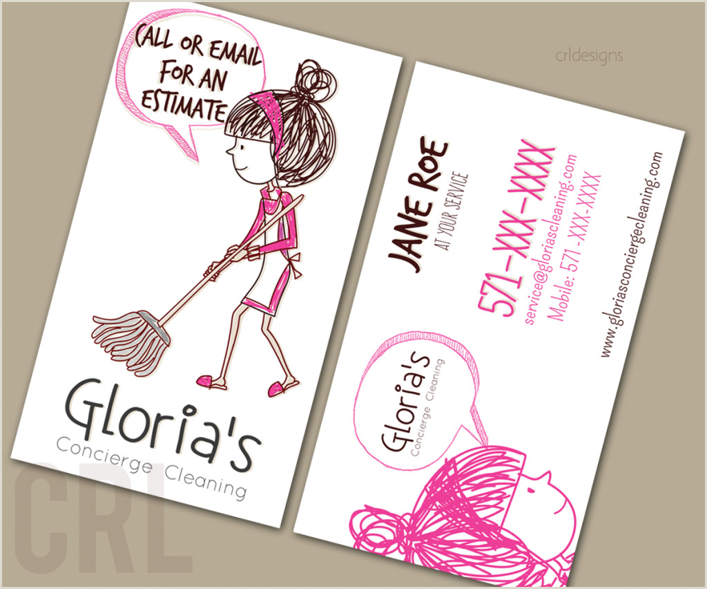 Business Cards For Cleaning Business Top 25 Cleaning Service Business Cards From Around The Web