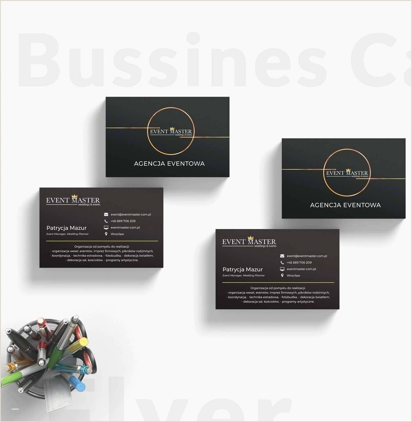 Business Cards Format Business Card Slits Template