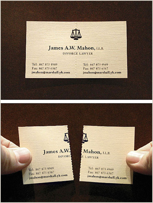 Business Cards From 100 Really Creative Business Cards