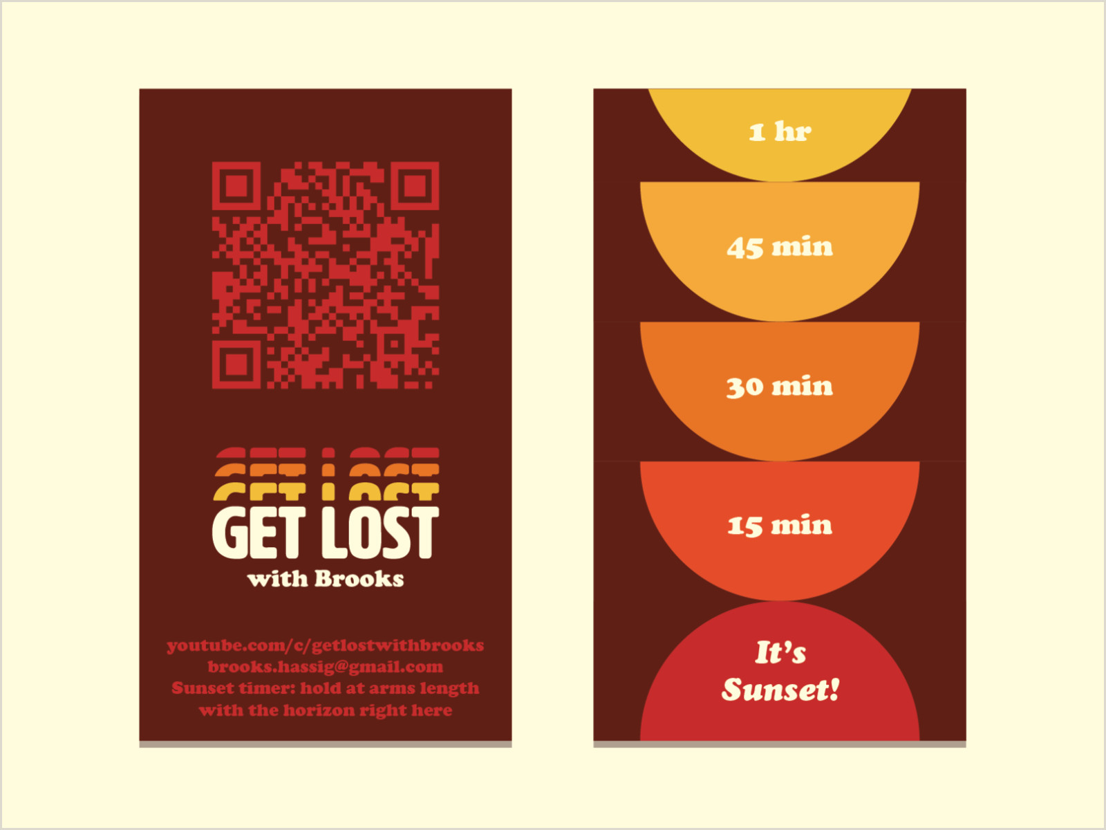 Business Cards From Get Lost Business Cards By Brooks Hassig On Dribbble