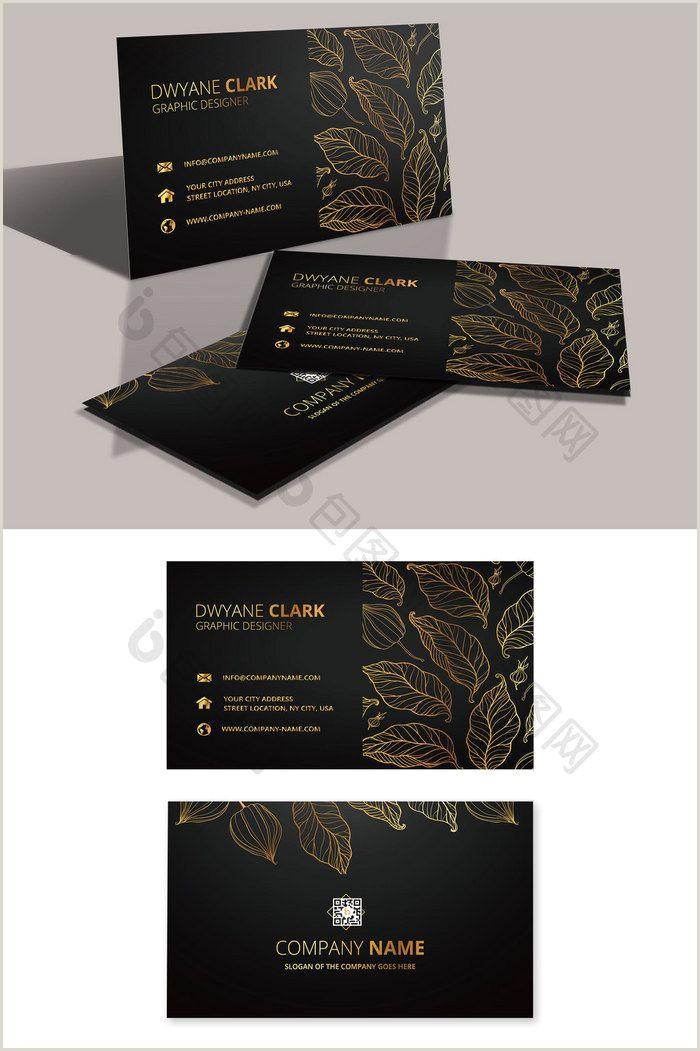Business Cards Idea High End Fashion Black Real Estate Business Card
