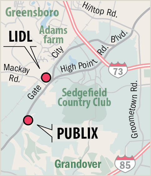 Business Cards Near Me Same Day New Lidl And Publix Stores In Greenboro Opening On The Same