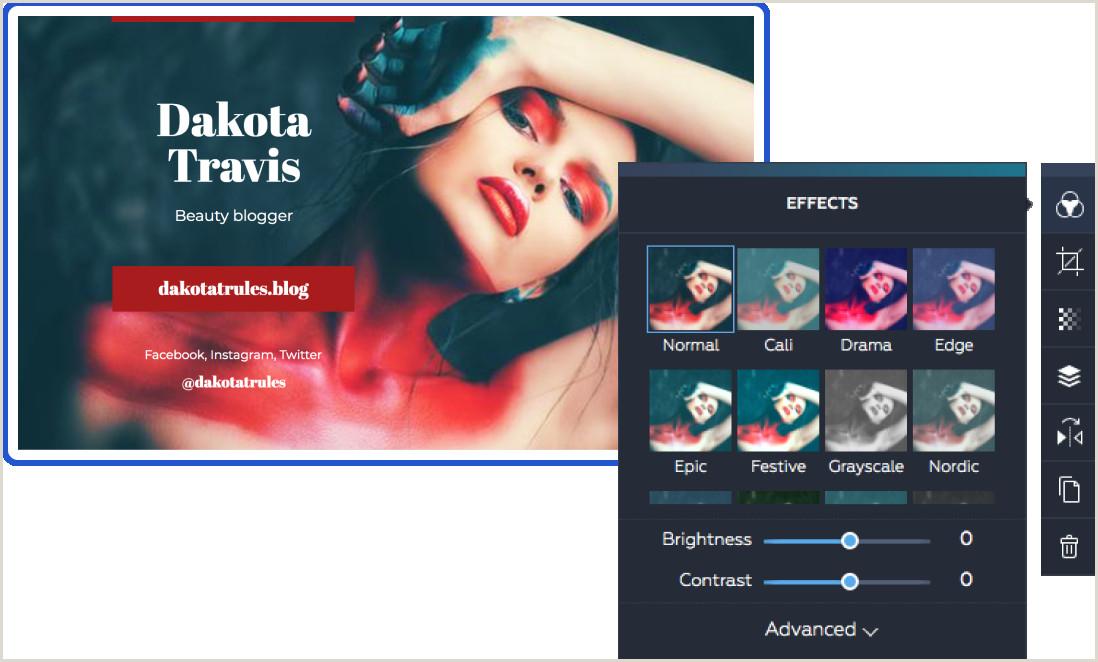 Business Cards Online Design Design Business Cards — Free Business Card Maker Line