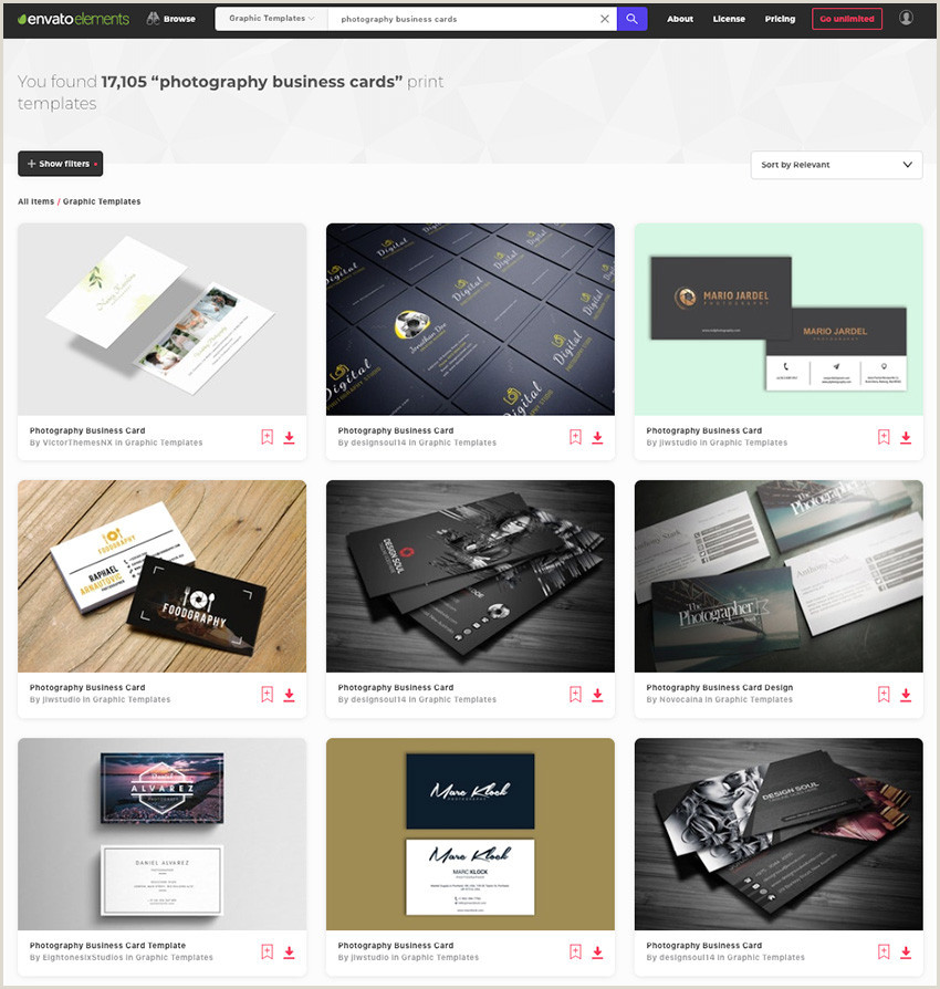 Business Cards Photography Ideas 25 Best Graphy Business Card Designs 2019 Creative