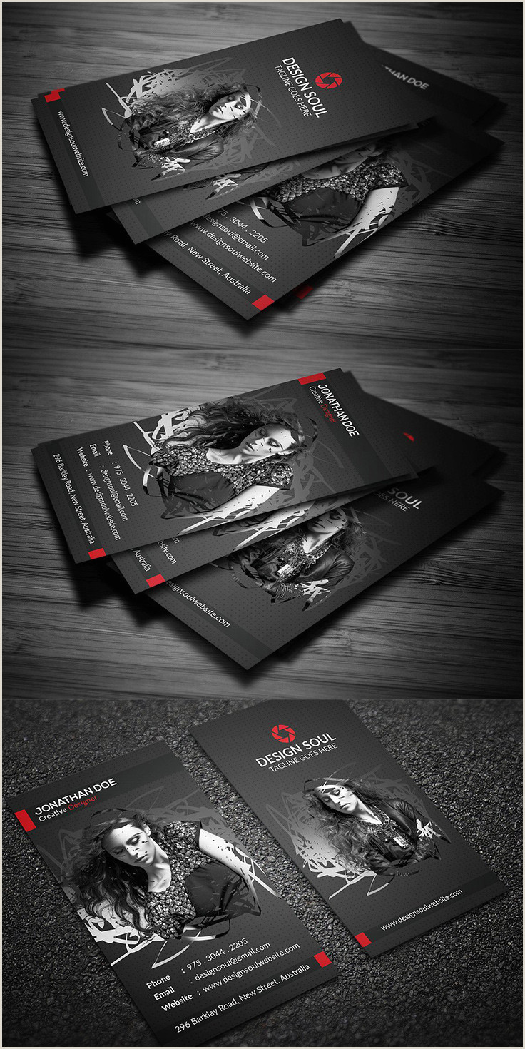 Business Cards Photography Ideas 40 Graphy Business Card Templates