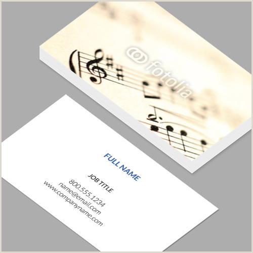 Business Cards Print Your Own Business Cards Standard Horizontal Customizable Design