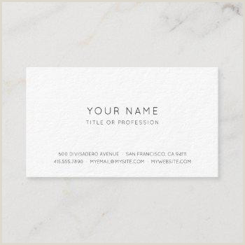 Business Cards Simple Simple Business Cards