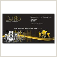 Business Cards That Play Music 20 Business Cards For Djs Ideas