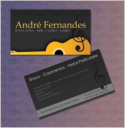 Business Cards That Play Music 20 Fantastic Business Cards For Musicians