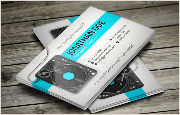 Business Cards That Play Music 23 Great Music Business Card Psds – Desiznworld