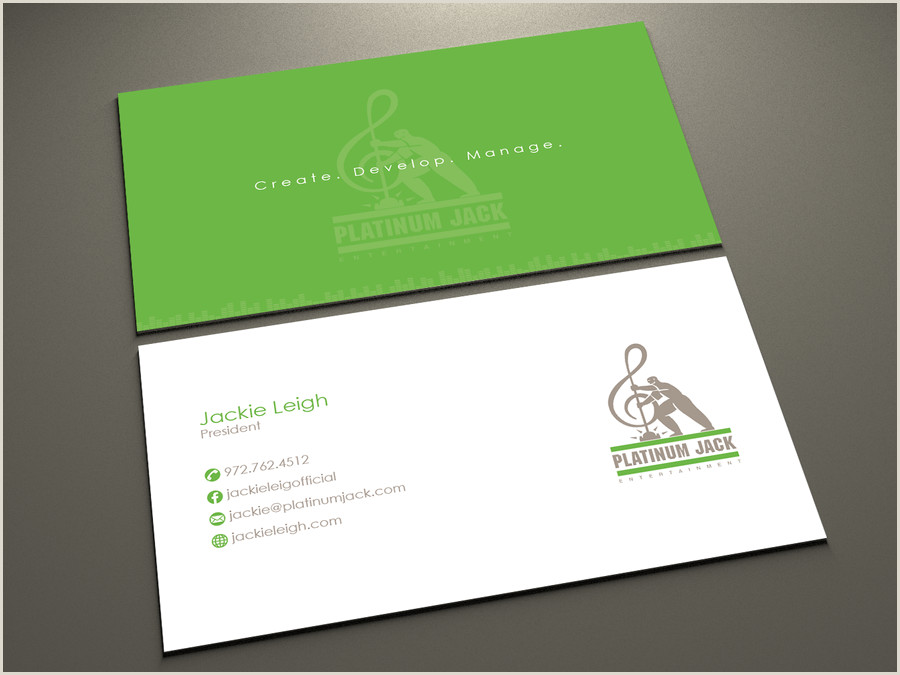 Business Cards That Play Music Business Card Design Contest