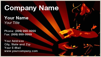 Business Cards that Play Music Music Business Cards