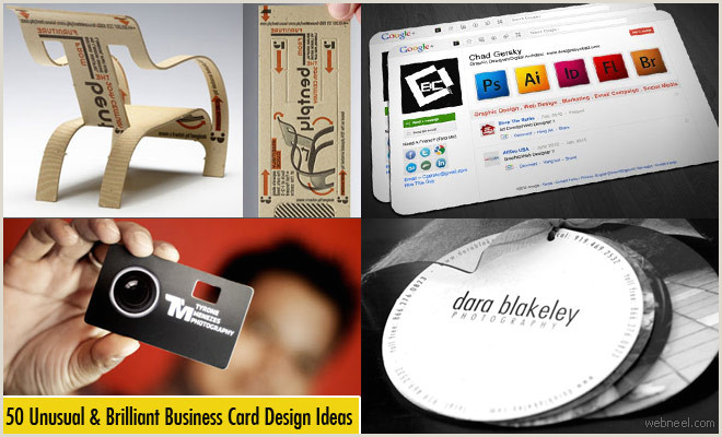 Business Cards Unique 50 Unusual And Brilliant Business Card Designs And Ideas For You