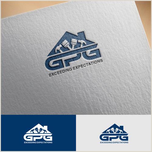 Business Cards Unique Renovation Construction Jermy Golob Create A Modern Professional Logo For A Construction Repair