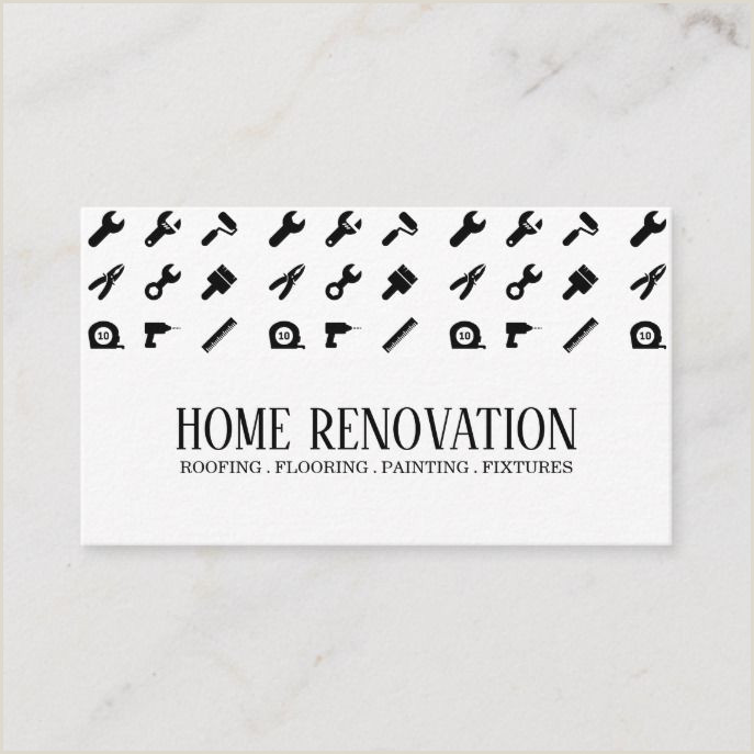 Business Cards Unique Renovation Construction Jermy Golob Home Renovation Construction Business Card