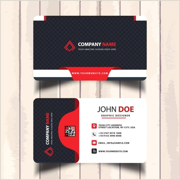 Business Cards With 2 Names Freepik Graphic Resources For Everyone