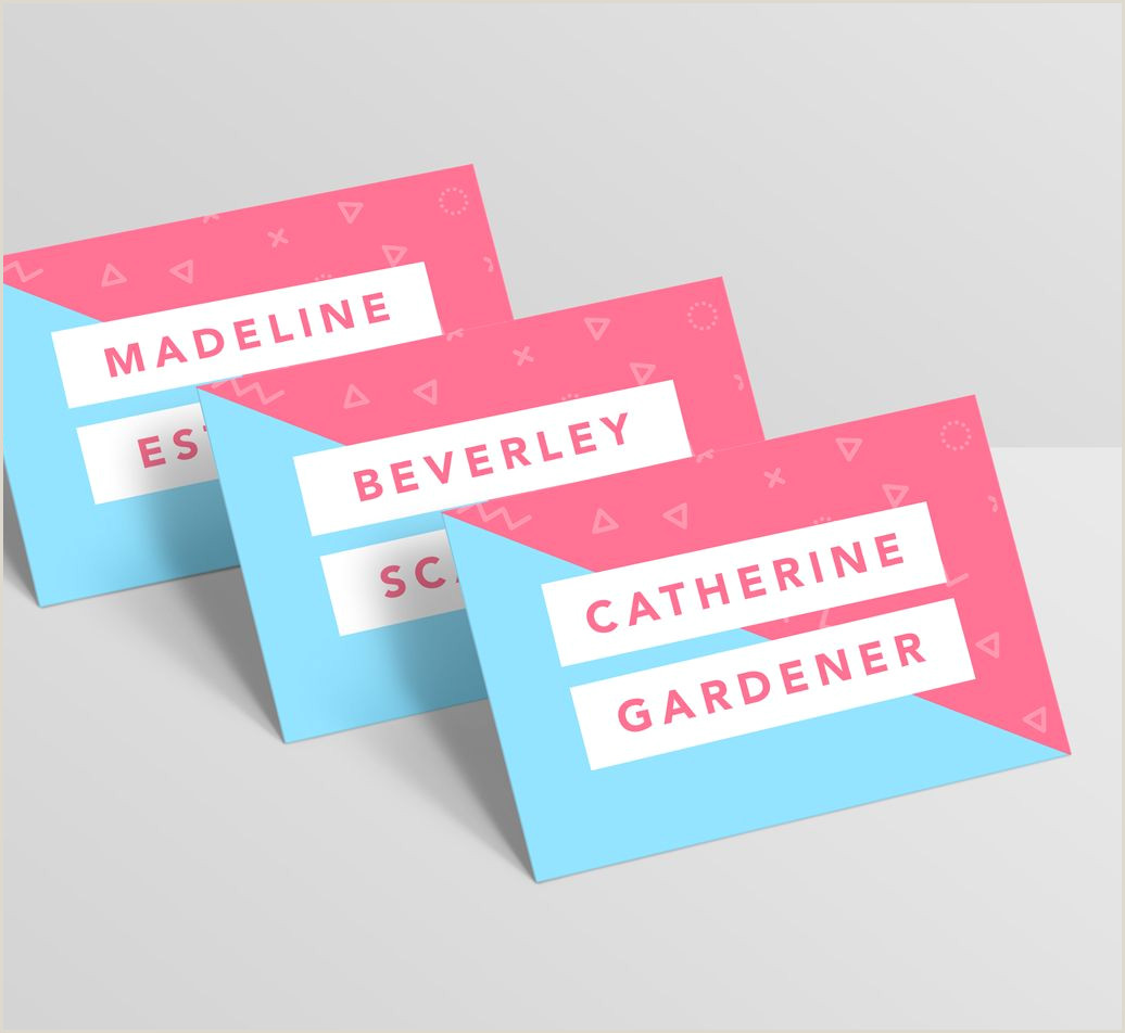 Business Cards With 2 Names Multi Name Business Cards Multiple Designs