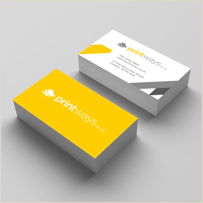 Business Cards With 2 Names Multi Name Business Cards – Single Sided And Square Trimmed