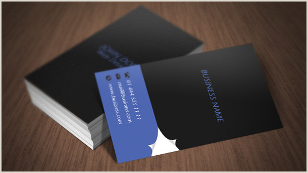 Business Cards With 2 Names Page Curl Business Card By Free Shopdownload