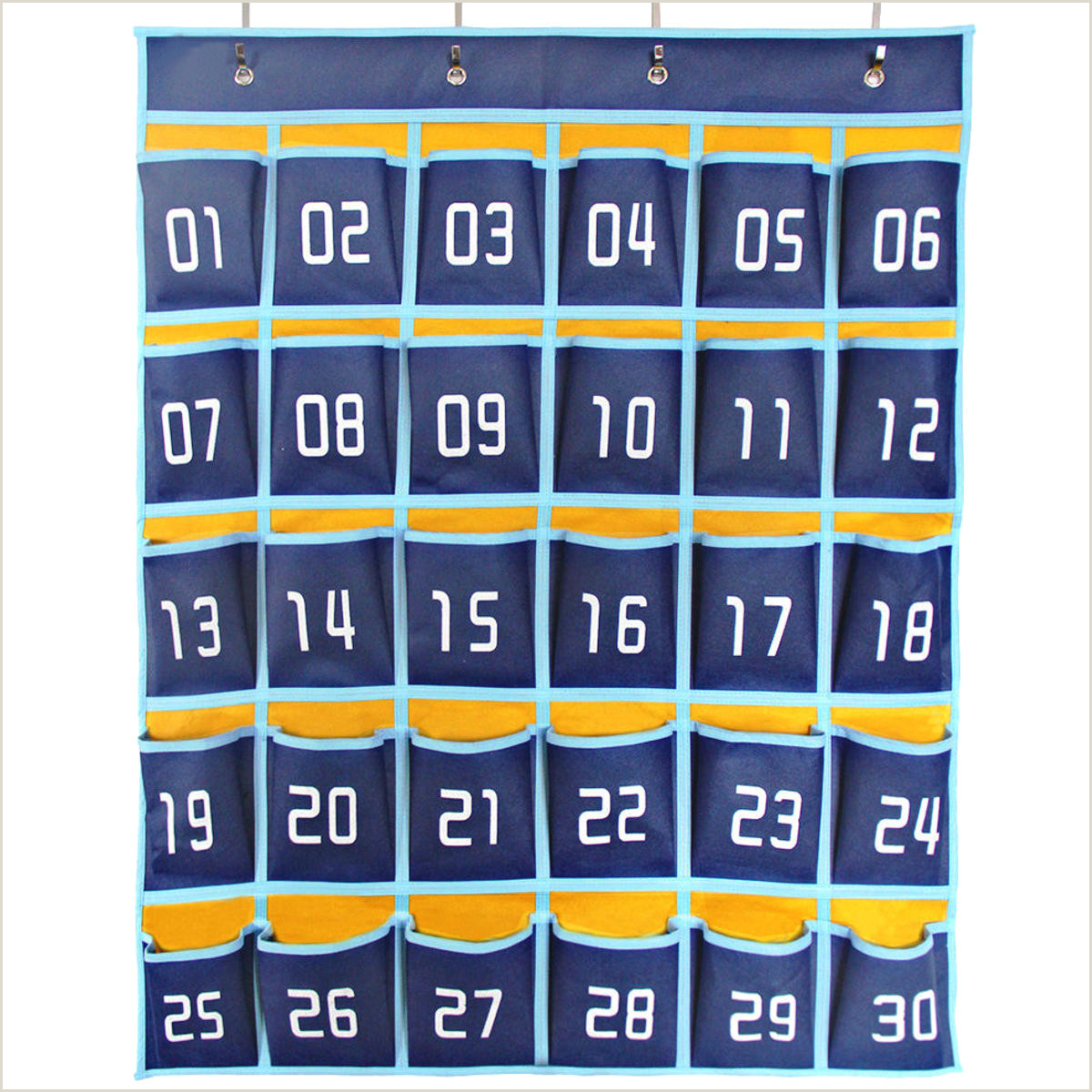Business Cards With Classroom Hanging Organizer 30 Pockets Cell Phones Storage Bag Business Cards Wall Mount Bag