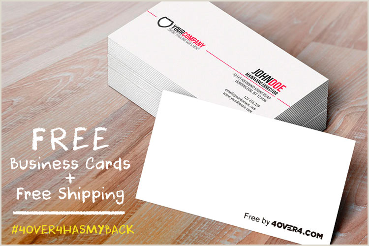Business Cards With Free Business Cards & Free Shipping Yes Totally Free