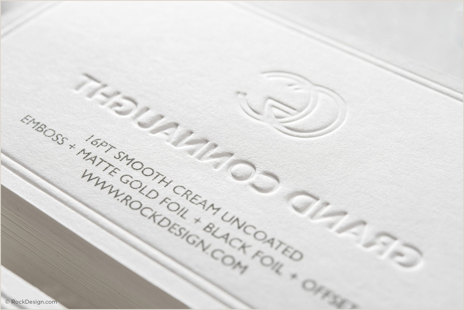 Business Cards With Gold Lettering Buy Embossed Business Cards Now Using Free Templates