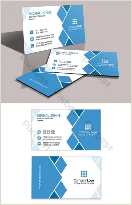Business Cards With Logo Best Business Cars Design Blue Templates Ideas