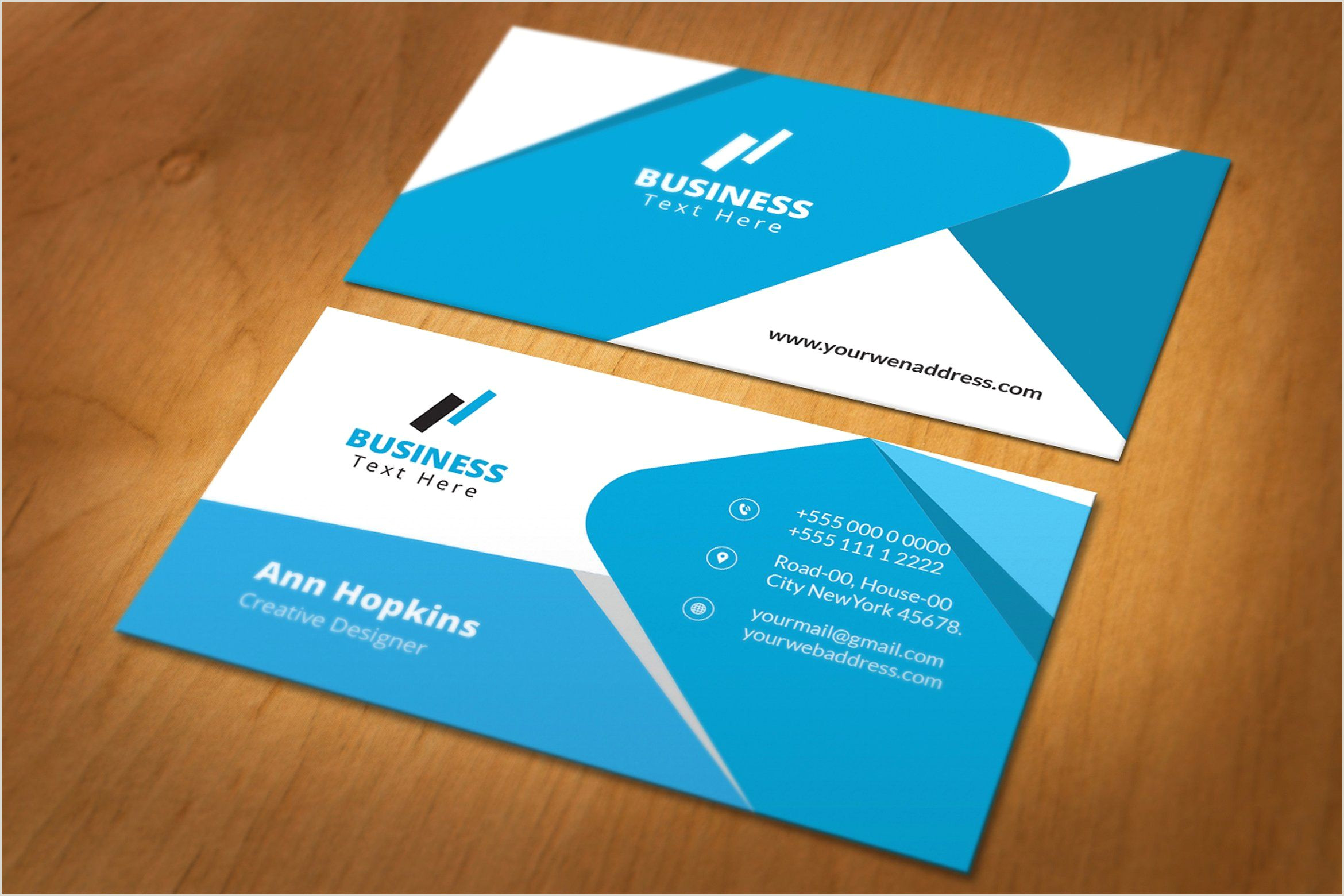 Business Cards With Personal Photo Business Card