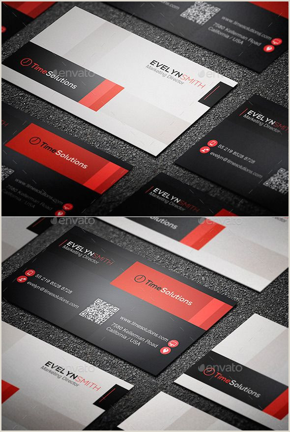 Business Cards With Personal Photo Simple Business Card