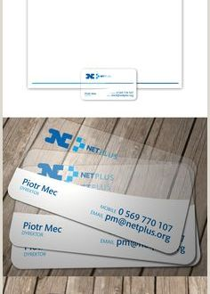 Business Cards with Two Names 10 Best Transparent Business Cards Images