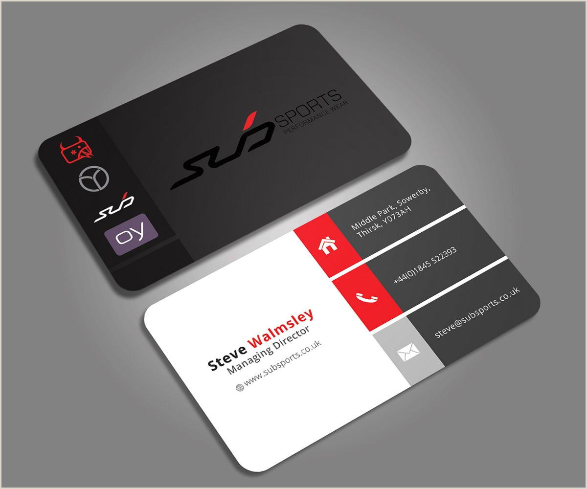 Business Cards With Two Names Business Card Design By Graphic Flame For Business Card For