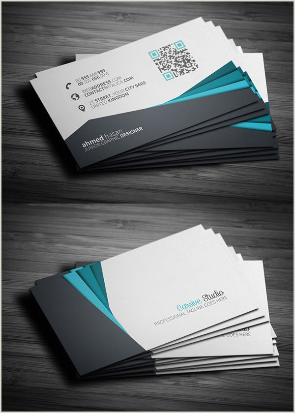 Business Cards With Unique Designs On Each One 25 Free Business Cards Psd Templates And Mockup Designs