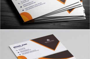 Business Cards with Unique Designs On Each One Modern Business Card Template