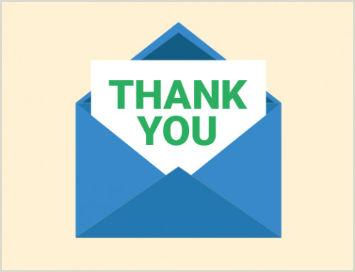 Business Thank You Card Ideas Pre Fill An Email Created Via Mailto Link