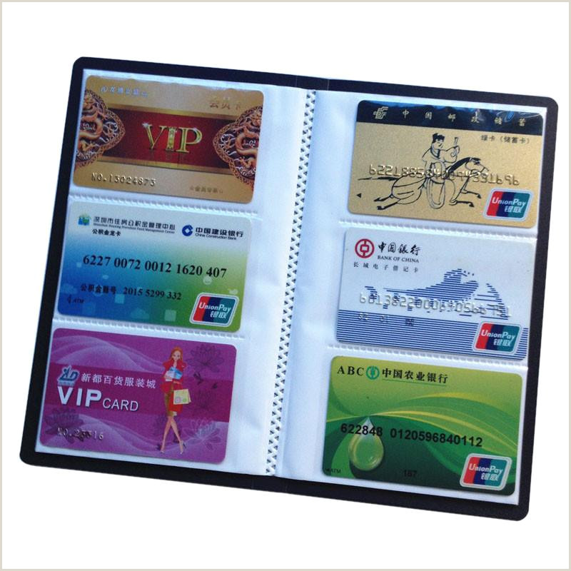 Businss Cards 120 Cards Business Card Holder Leather 120 Cards Id Holder