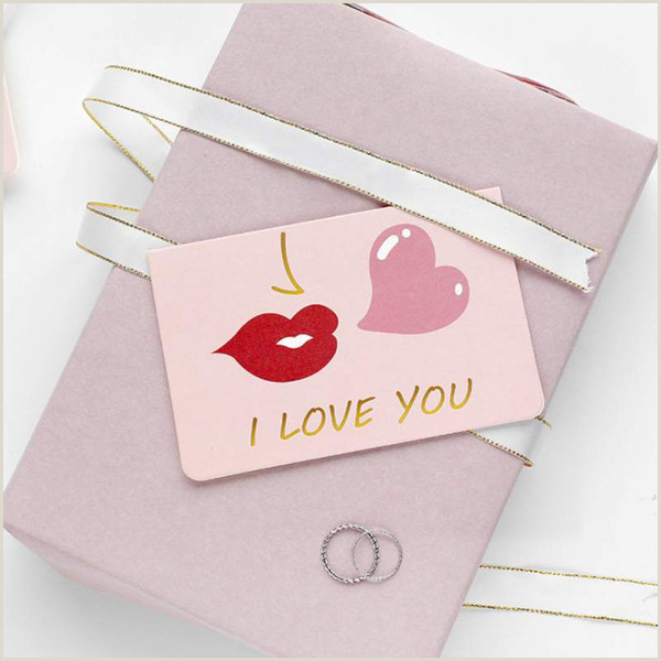 Businss Cards Valentines Day Greeting Card Blessing Note Cards Wedding