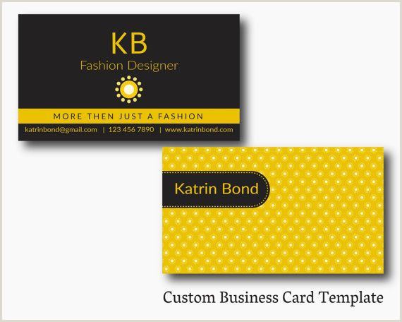 Call Card Designs Business Card Template Calling Cards Custom Business Cards